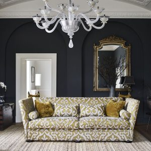 Ashley Manor DELPHINE_GRAND_CAMILLA DAMASK MUSTARD 1