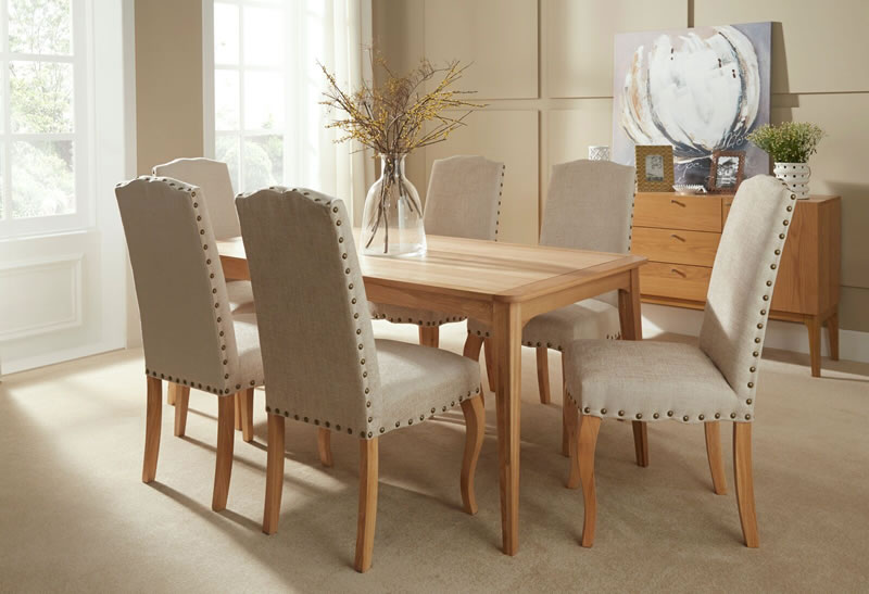 Serene Lewisham_Dining_Table_&_Kensington_Luna_Pearl_Chairs