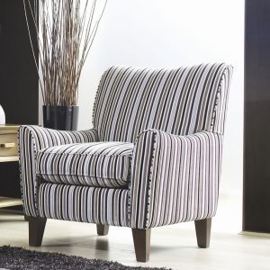 Ashley Manor alexis accent chair (Jupiter stripe)